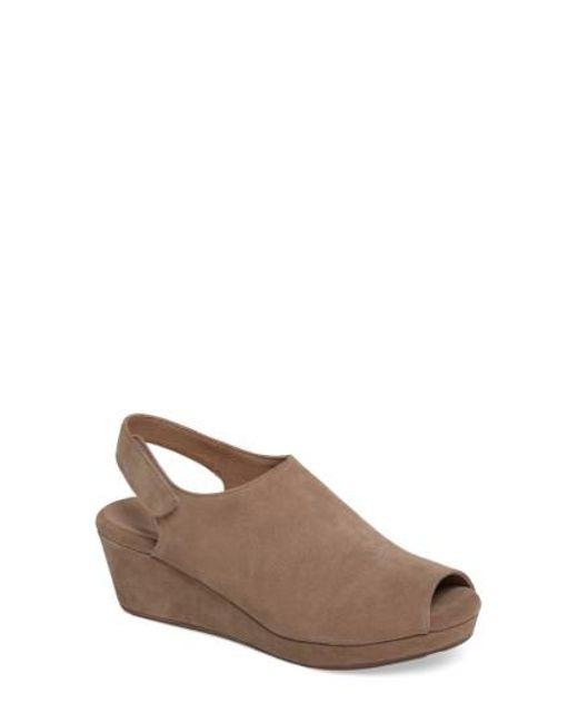 Chocolat Blu Women's Chocolate Blu Welby Ankle Strap Wedge Sandal LdNZz