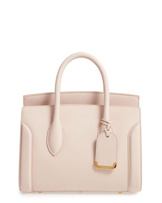 Alexander McQueen - Multicolor Medium Heroine Calfskin Leather Shopper - Lyst