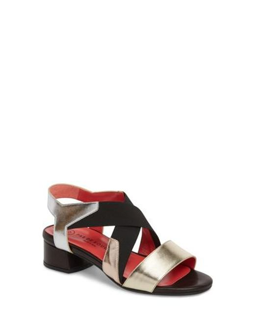 Pas De Rouge - Multicolor Selena Sandal - Lyst