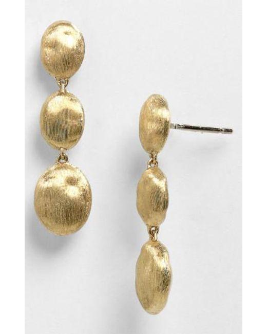 Marco Bicego - Metallic 'siviglia' Drop Earrings - Lyst