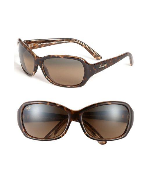 Maui Jim - Brown Pearl City 63mm Polarizedplus2 Sunglasses - Lyst