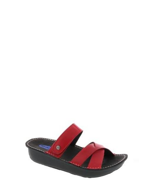 Wolky - Red Bioko Sandal - Lyst