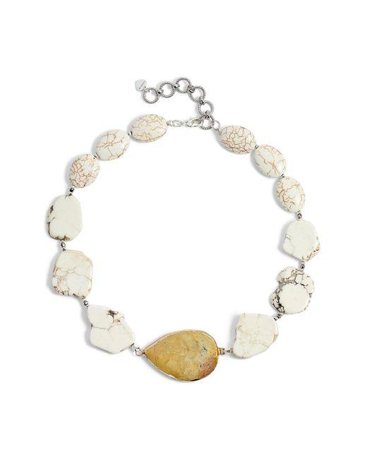Nakamol - White Chunky Stone Necklace - Lyst