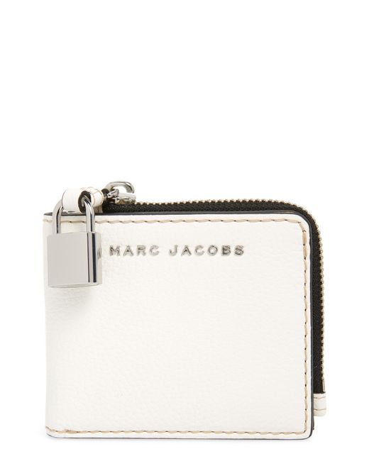 Marc Jacobs - Multicolor The Grind Leather Snap Wallet - Lyst