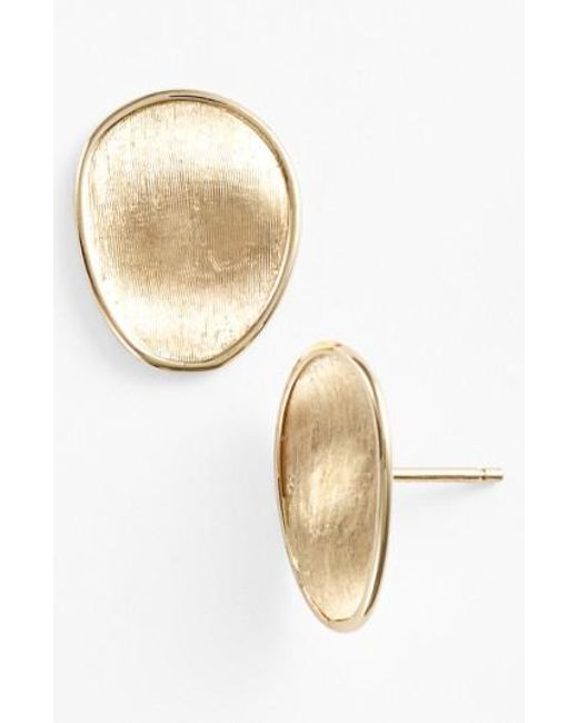 Marco Bicego - Metallic 'lunaria' Stud Earrings - Lyst