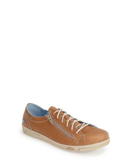 Cloud - Brown 'aika' Leather Sneaker - Lyst