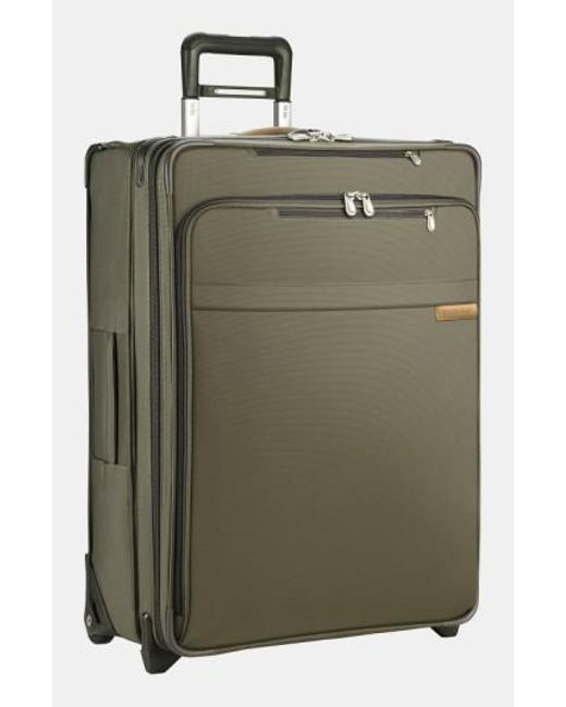 Briggs & Riley - Green 'large Baseline' Expandable Rolling Packing Case for Men - Lyst