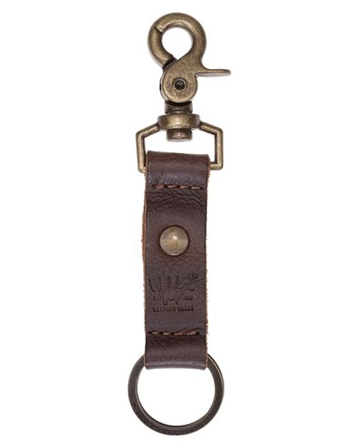 Will Leather Goods | Brown 'wren' Key Chain for Men | Lyst