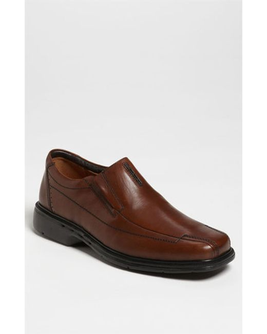 Clarks | Brown Clarks 'un. Sheridan' Slip-on for Men | Lyst