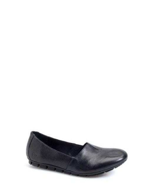 Børn - Black Sebra Leather Moccasins - Lyst