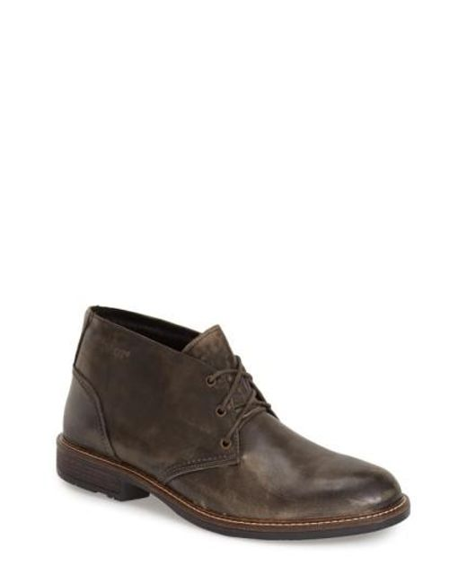 Naot | Gray 'pilot' Chukka Boot for Men | Lyst