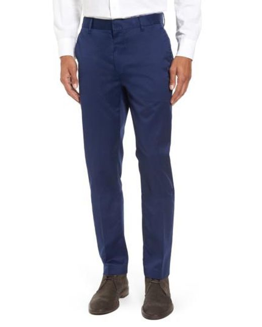 Bonobos - Blue 'weekday Warriors' Non-iron Tailored Cotton Chinos for Men - Lyst