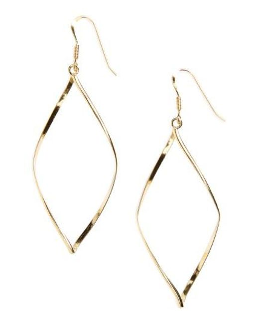 Argento Vivo | Metallic 'marquise' Earrings | Lyst