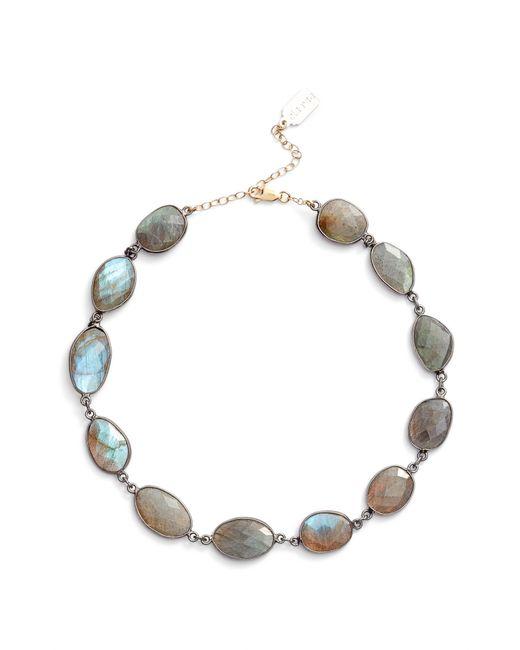 Ela Rae - Metallic Sadie Collar Necklace - Lyst
