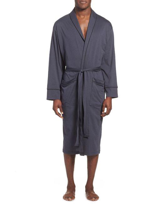 Daniel Buchler - Blue Peruvian Pima Cotton Robe for Men - Lyst
