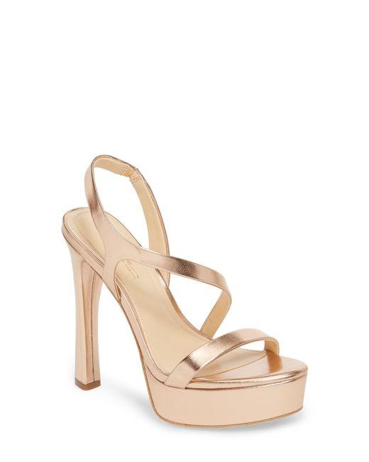 64ec66346a1 Lyst - Imagine Vince Camuto Piera Platform Sandal in Metallic - Save 42%