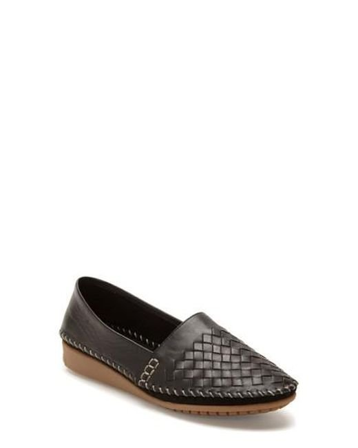 Adam Tucker Surf Perforated Leather Slip-On Shoe aJJVu