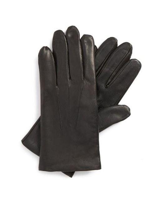John W. Nordstrom   Black John W. Nordstrom Leather Tech Gloves for Men   Lyst