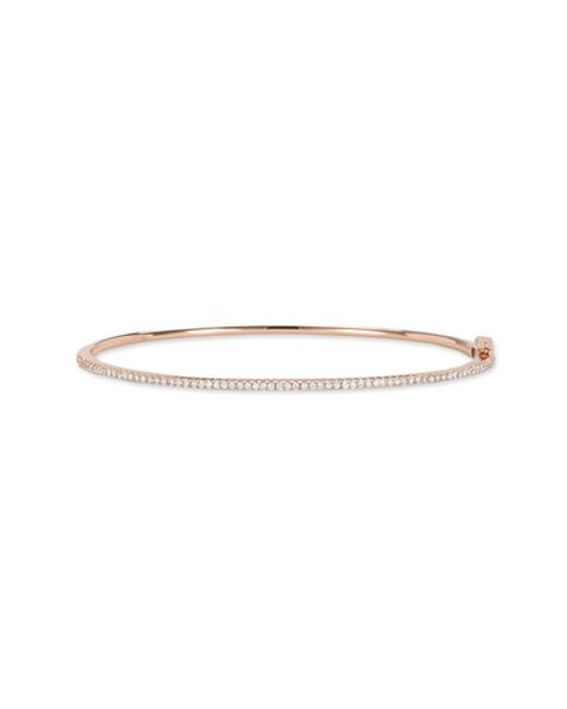 Bony Levy | Pink Skinny Diamond Bangle (nordstrom Exclusive) | Lyst