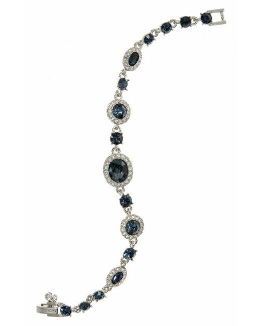 Givenchy - Metallic Crystal Line Bracelet - Lyst
