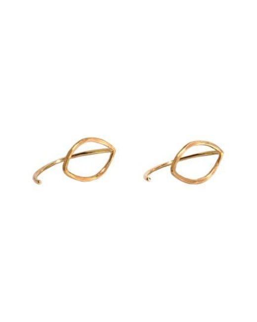 howlite stone earrings - Metallic Melissa Joy Manning 2WsKxq4H