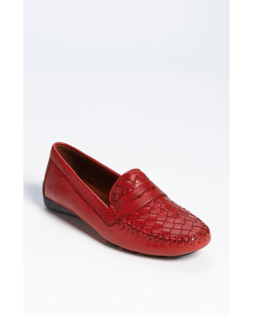 Robert Zur - Brown Petra Leather Driving Shoes  - Lyst