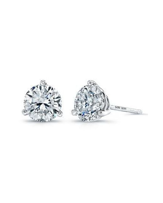 Bony Levy | White Diamond Stud Earrings (nordstrom Exclusive) | Lyst