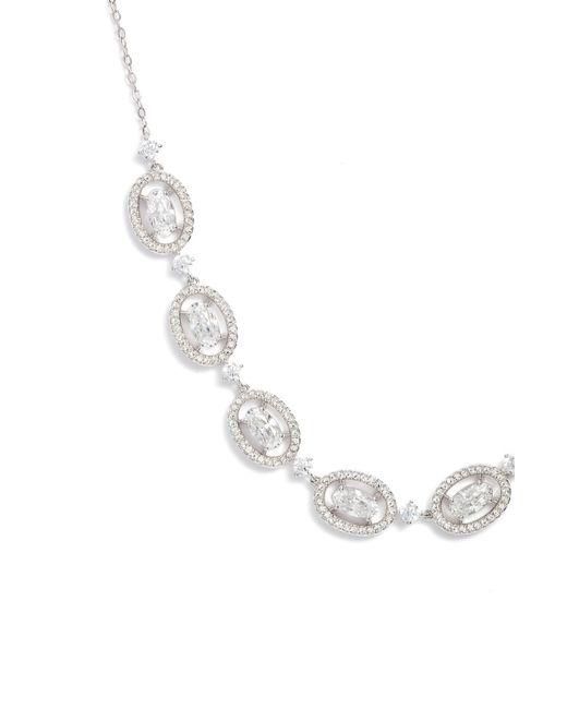 Nadri - Metallic Frontal Necklace - Lyst