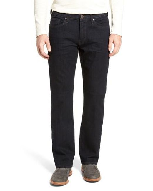 PAIGE | Black Doheny Relaxed Fit Jeans for Men | Lyst