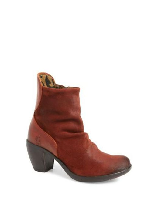 Fly London - Brown Hota Slouch Bootie - Lyst