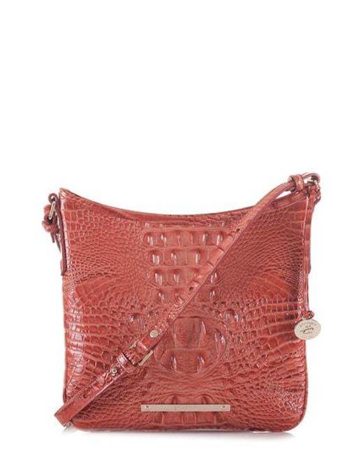 Brahmin Gray Jody Crossbody Bag Lyst