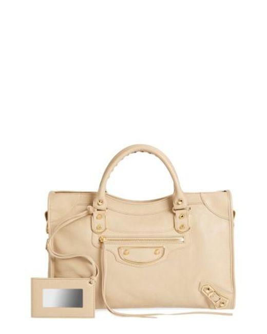 Balenciaga | Multicolor Balenciaga Classic Metallic Edge City Leather Tote | Lyst