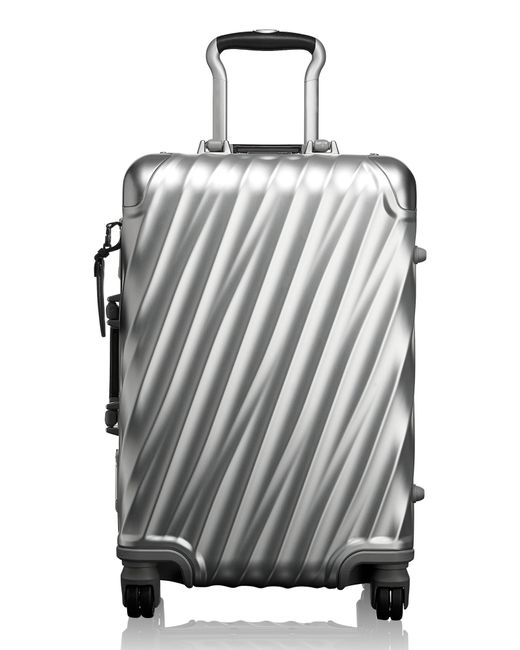 Tumi - 19 Degree 22-inch Collection International Wheeled Aluminum Carry-on - Metallic - Lyst