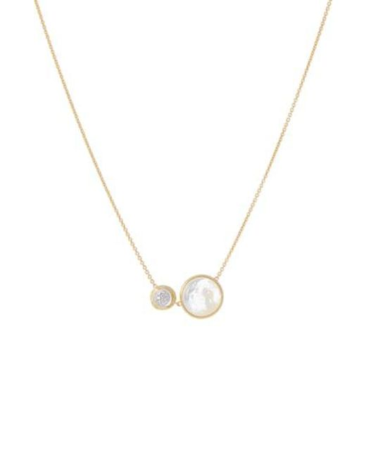 Marco Bicego - Blue Jaipur Turquoise & Diamond Pendant Necklace - Lyst