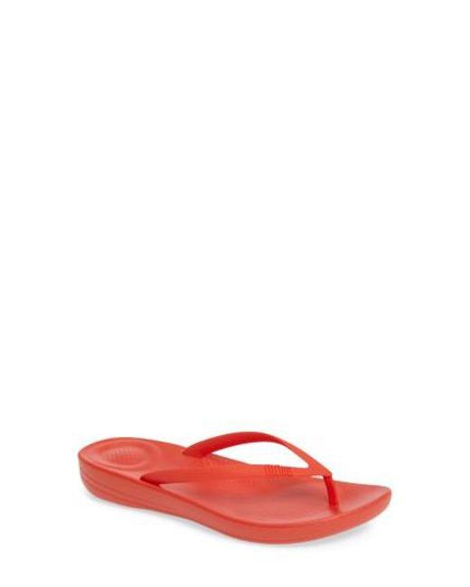 Fitflop | Multicolor (tm) Iqushion Flip Flop | Lyst