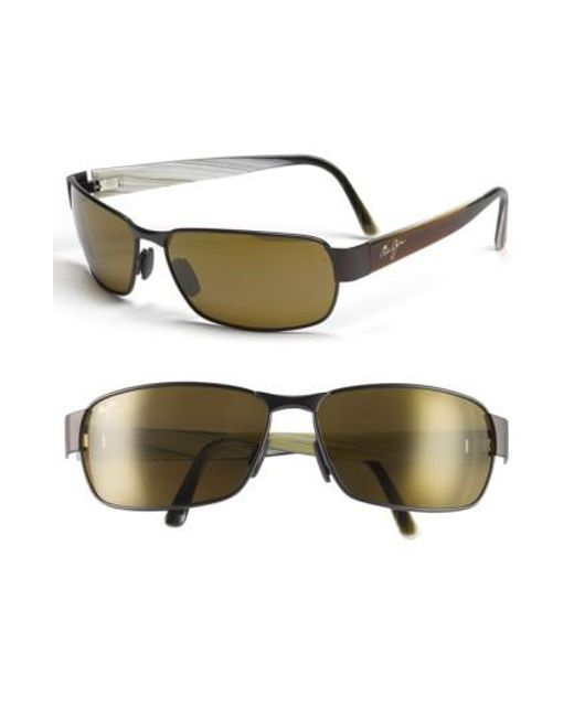 Maui Jim - Brown 'black Coral - Polarizedplus2' 65mm Sunglasses for Men - Lyst