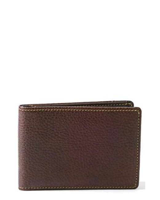 Boconi - Brown 'tyler' Rfid Slimster Wallet for Men - Lyst
