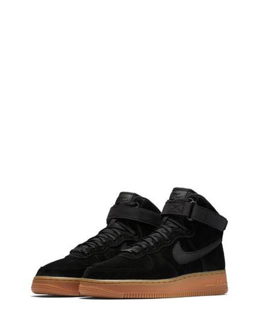 Nike - Black Air Force 1 High Top Se Sneaker for Men - Lyst
