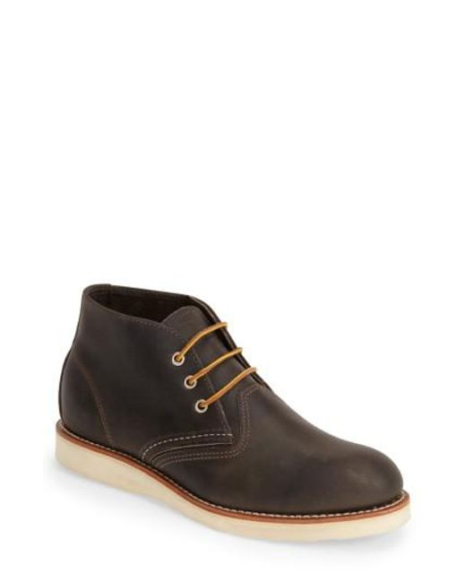 Red Wing   Brown 'classic' Chukka Boot for Men   Lyst