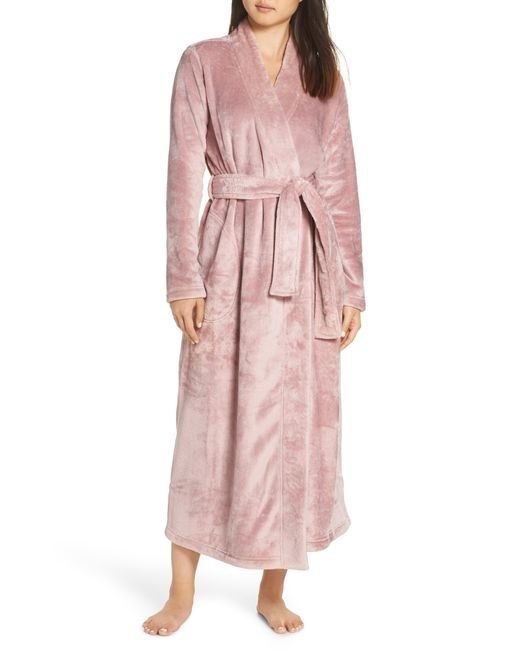 Ugg - White Ugg Marlow Double-face Fleece Robe - Lyst
