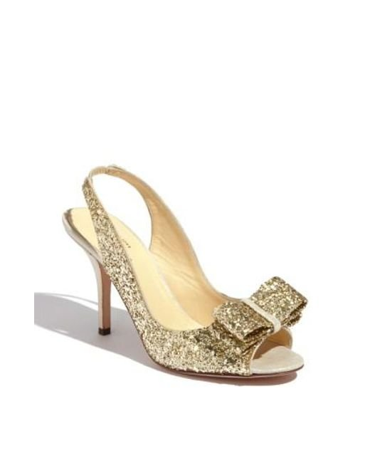 Kate Spade | Natural 'charm' Slingback Pump | Lyst
