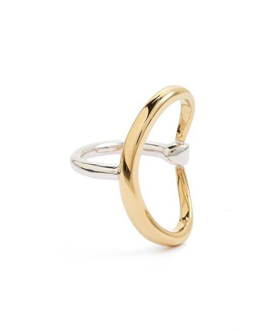 Charlotte Chesnais - Metallic Turtle Ring - Lyst
