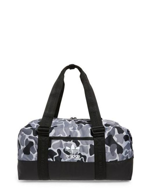 80e57719d9dc Lyst - Adidas Originals Adidas Duffel Bag in Gray for Men