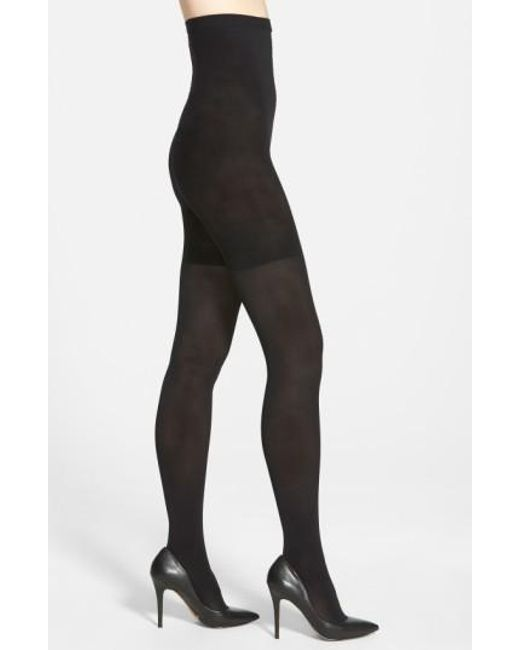 Spanx - Black Spanx Luxe Tights - Lyst