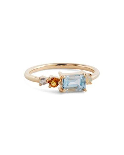 Mociun | Blue Topaz, Opal | Lyst