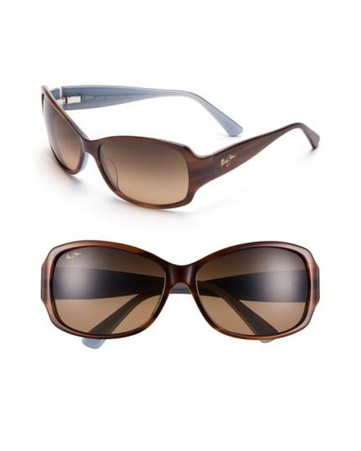 Maui Jim | Brown Nalani 61mm Polarizedplus2 Sunglasses | Lyst