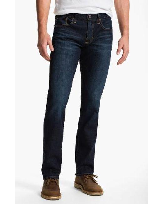 AG Jeans | Blue Jeans 'matchbox' Slim Fit Jeans for Men | Lyst