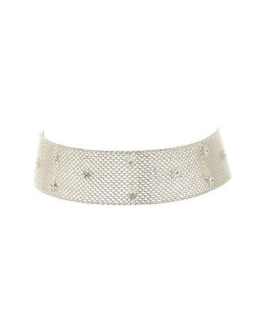 Luv Aj | Metallic Starburst Mesh Choker Necklace | Lyst
