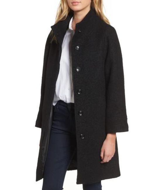 Vince Camuto | Black Car Coat | Lyst