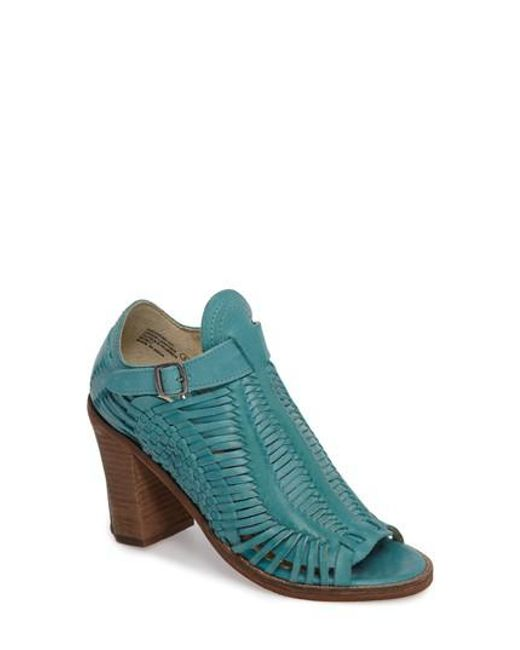 Naughty Monkey | Blue Killion Open Toe Bootie | Lyst